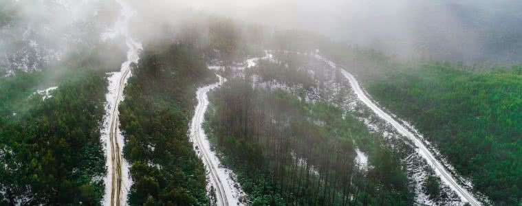 4WD winter adventure, high country (VIC) Timothy Blacketer snow, roads, forest