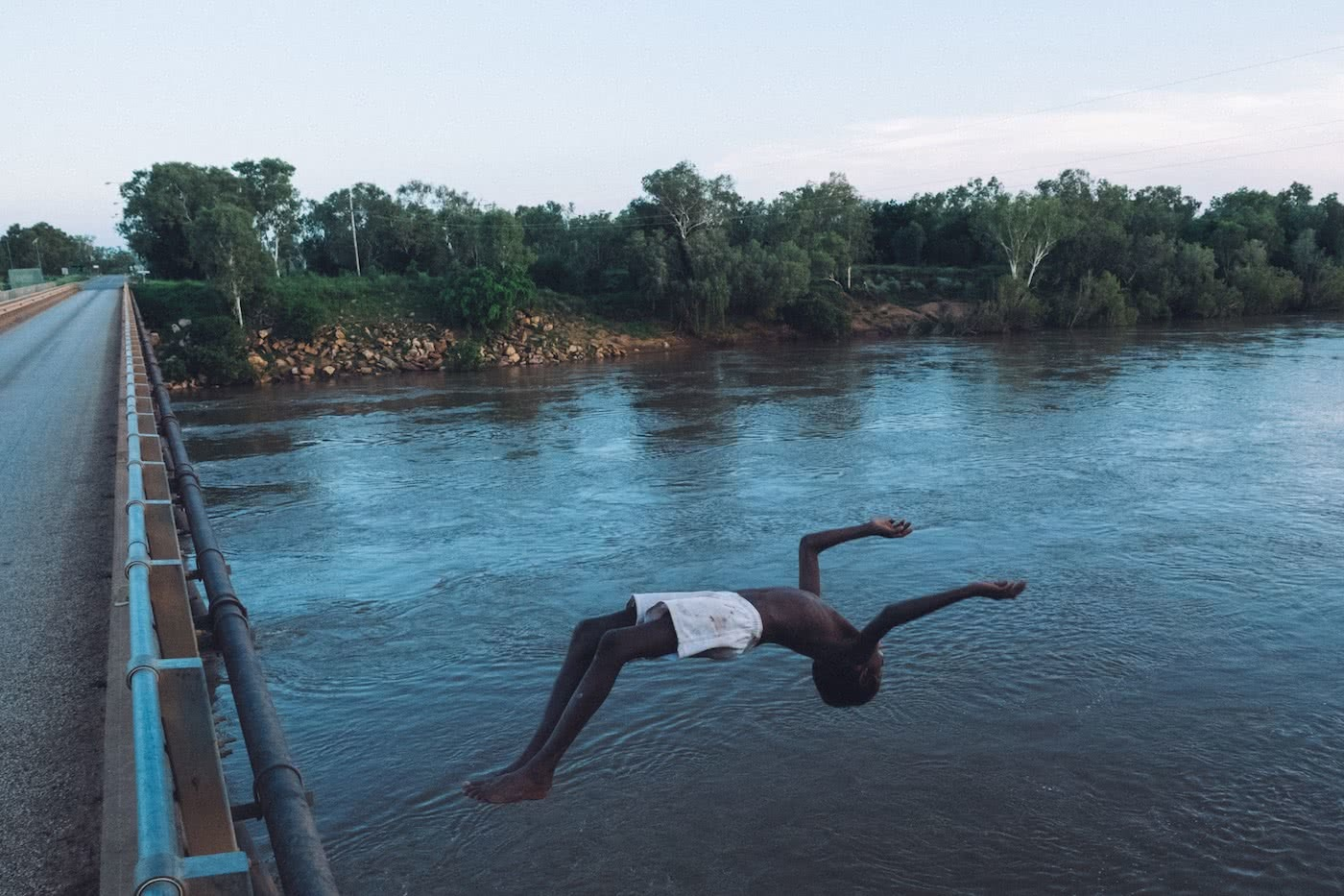 A Humbling Landscape // Kayaking The Kimberley (WA) Lachie Carracher backflip, river, bridge