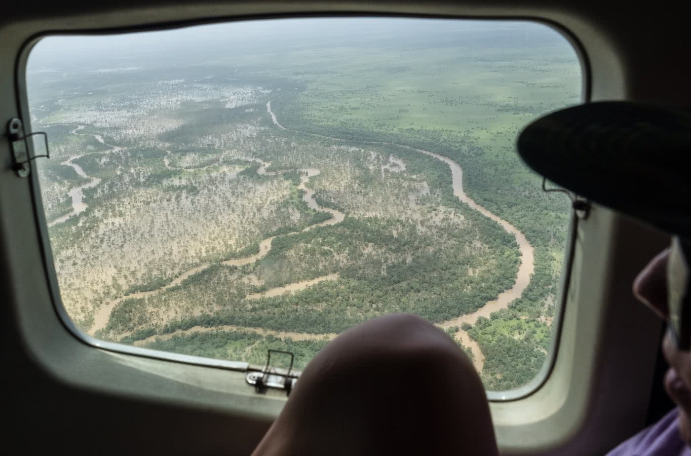 A Humbling Landscape // Kayaking The Kimberley (WA) Lachie Carracher helicopter, river, landscape.jpg