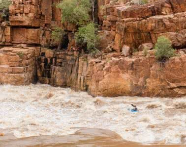 A Humbling Landscape // Kayaking The Kimberley (WA) Lachie Carracher kayak, cliff, whitewater, rapids
