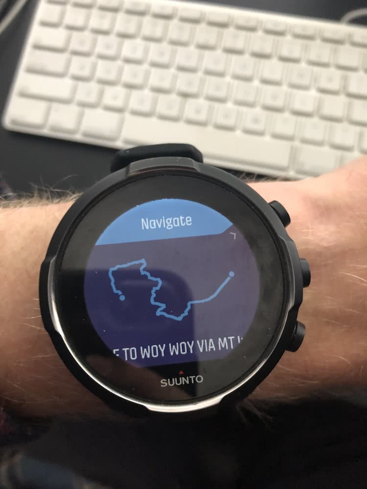 Relive The Battery Glory Days - Suunto 9 Baro // Gear Review, tim ashelford, gps watch, GPX map