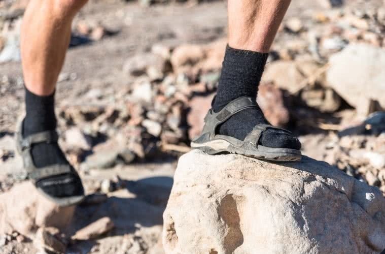 Love Letter to Sandals, Pat Corden, Photo by Lachie Thomas, sandals, socks, hiking