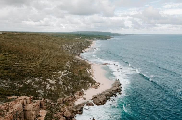 Stunning Views and Salty Air at Wilyabrup Sea Cliffs // Margaret River (WA) Cedric and Melody Tang beach, ocean, drone