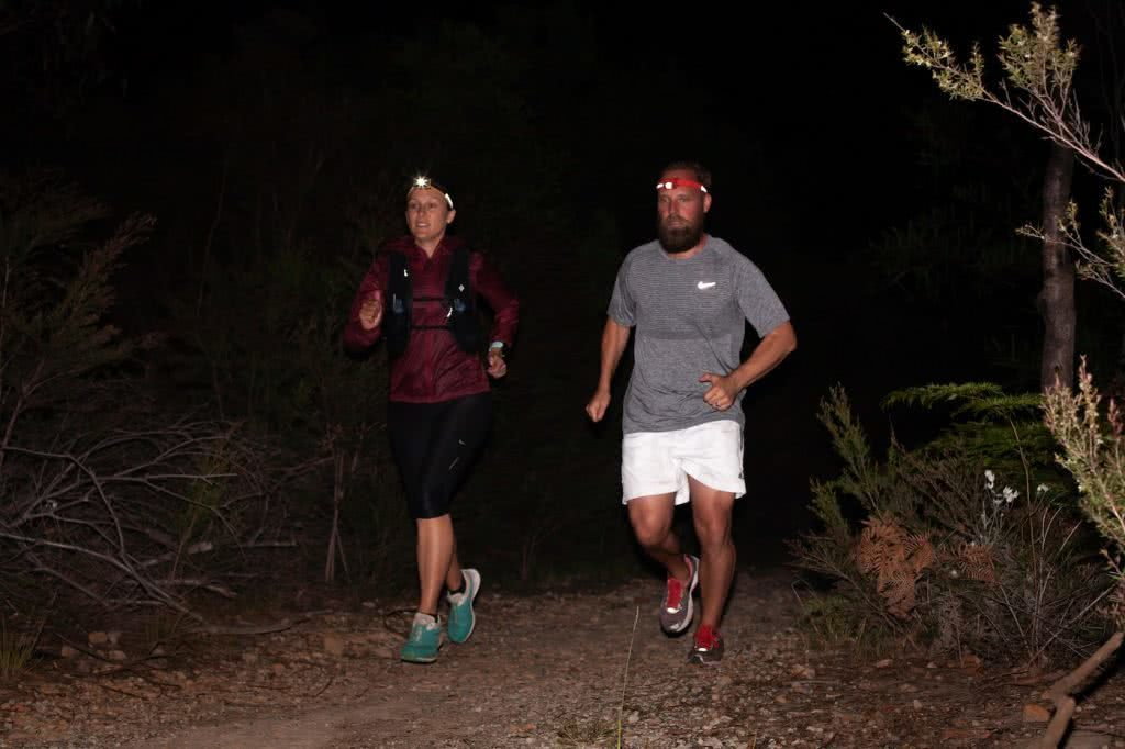 How To Trail Run At Night, photos by Karl Reynolds, black diamond, gear, trail running month, manly dam, nsw