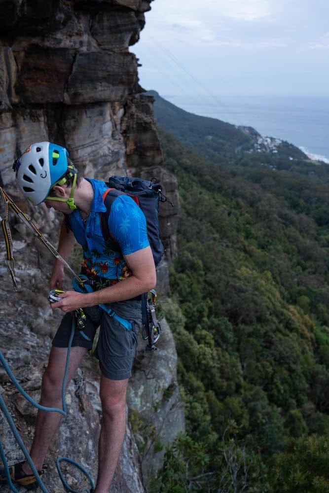 Osprey Mutant 22L Backpack // Gear Review, Mitch Scanlan-Bloor, rock climbing, illawarra, backpack, cragging