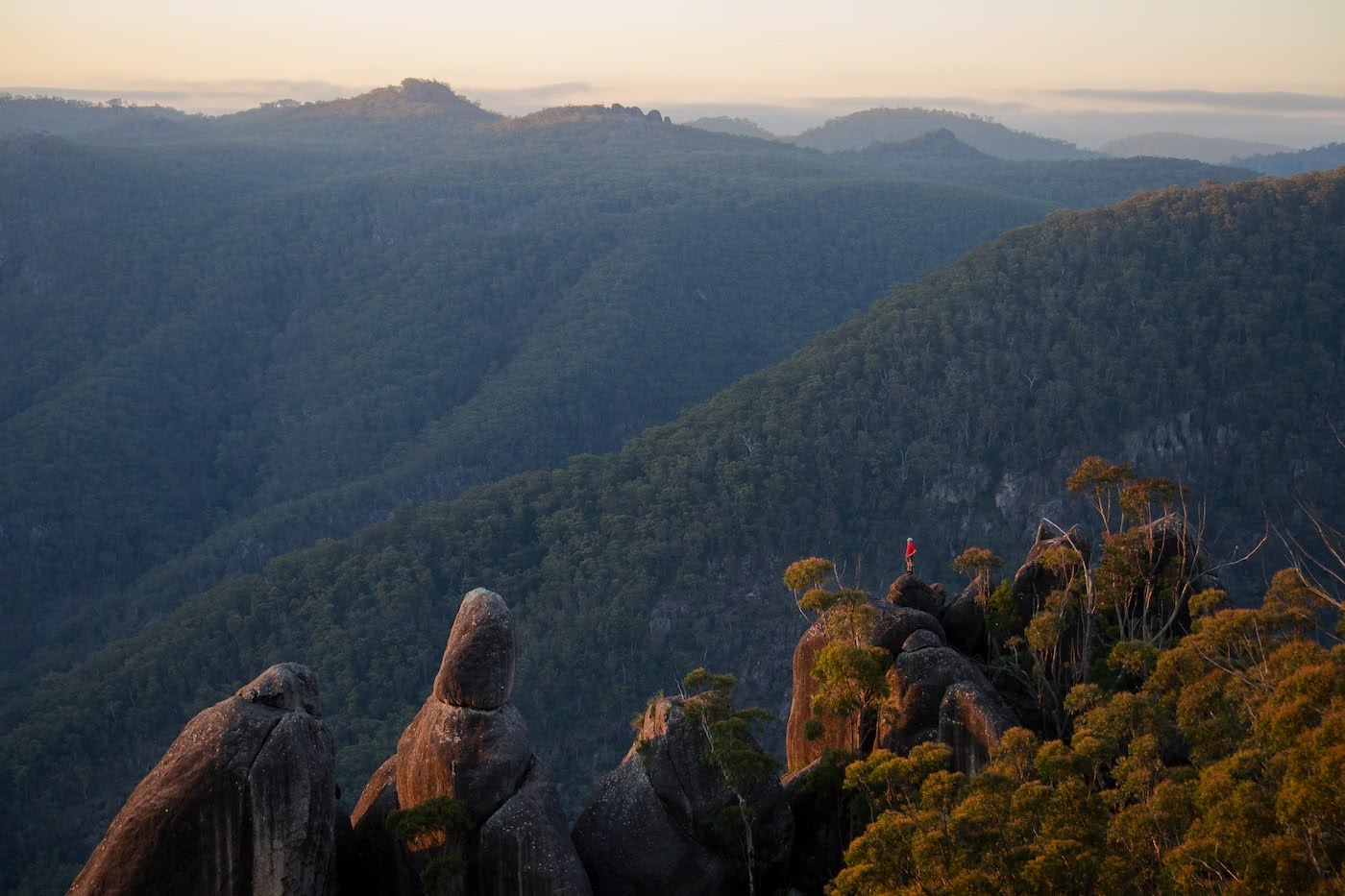 The Best of the New England Highlands (NSW) Dan Parkes #1 COVER IMAGE - The Needles at Gibraltar Range NP