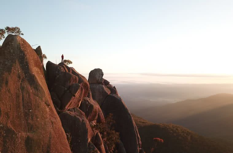 The Best Of The New England Highlands // Road Trip (Northern NSW) Dan Parkes valley, sunrise, the needles.JPG
