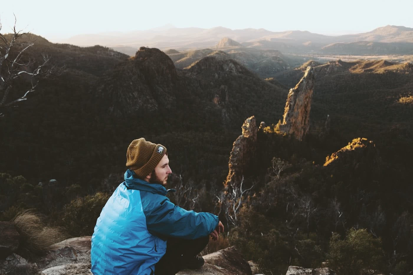 The Best of the New England Highlands (NSW) Dan Parkes hiker, view, cliffs