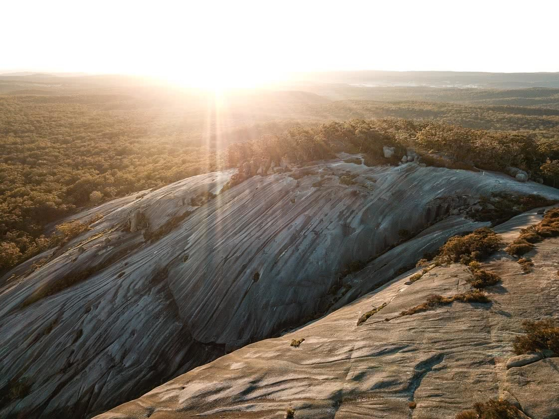 The Best of the New England Highlands (NSW) Dan Parkes granite, sunrise view
