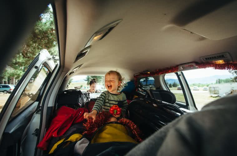 Toddler road trip mayhem henry brydon