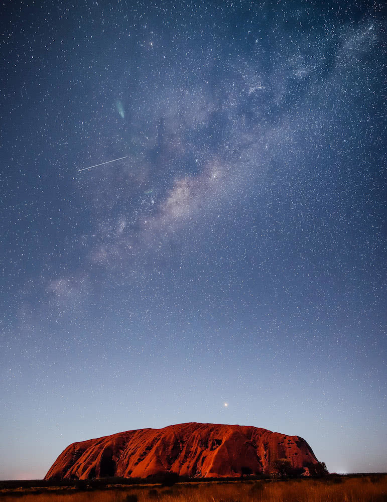 20 before 2020, Scout Hinchliffe, Milkyway Uluru, outback