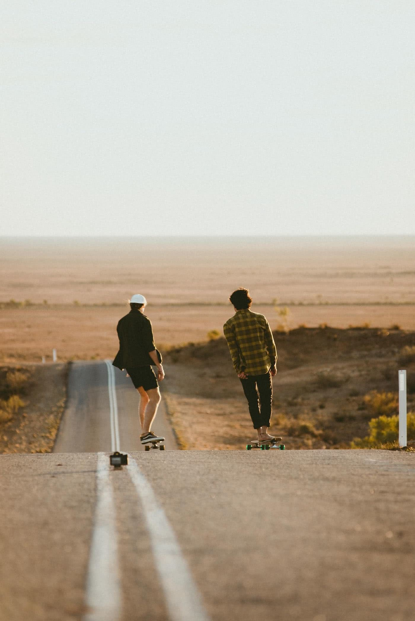 5 Reasons To Always Carry A Skateboard, Georgia Farrell, skateboarding, open road, desert