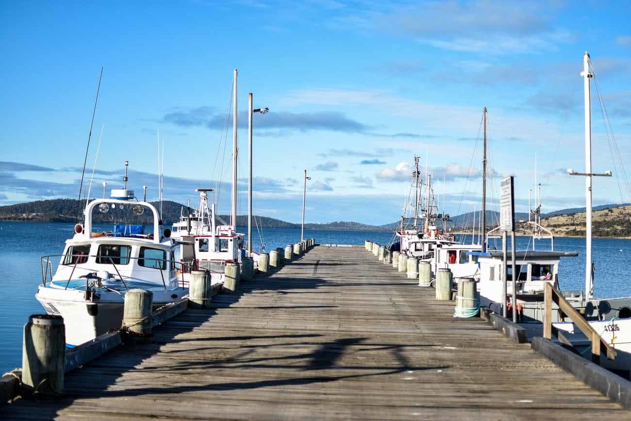 Winter Road Trippin' Tassie // Photo Essay Brent Frondall ocean, boats, jetty