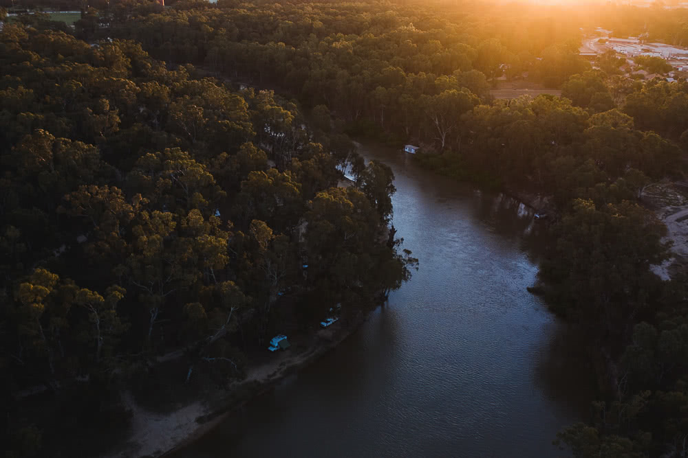 Deniliquin Should Be Your Next Weekend On The River, photo by Ben Savage, deniliquin, nsw, visit deni, drone