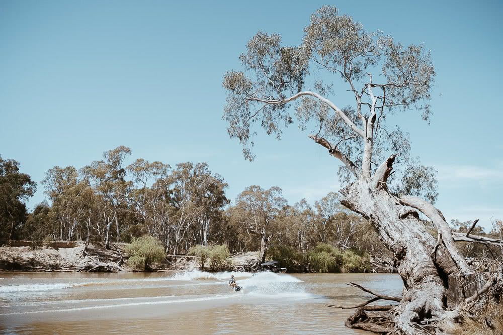 Deniliquin Should Be Your Next Weekend On The River, photo by Ain Raadik, deniliquin, nsw, visit deni, wakeboarding, edward river
