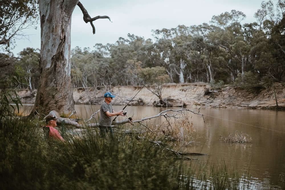 Deniliquin Should Be Your Next Weekend On The River, photo by Ain Raadik, deniliquin, nsw, visit deni, fishing, edward river