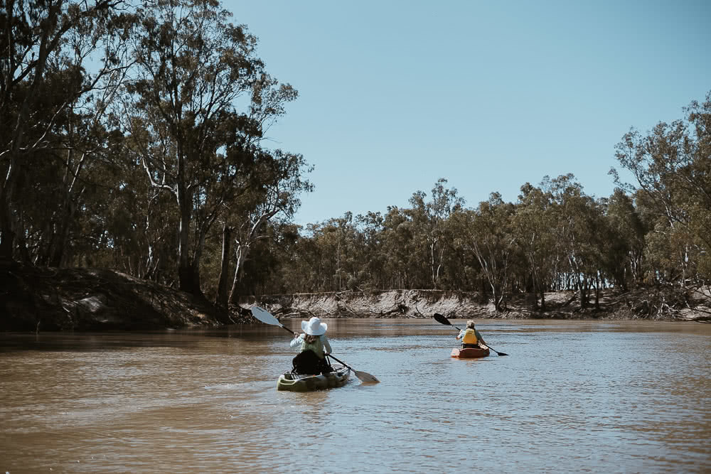 Deniliquin Should Be Your Next Weekend On The River, photo by Ain Raadik, deniliquin, nsw, visit deni, kayaking