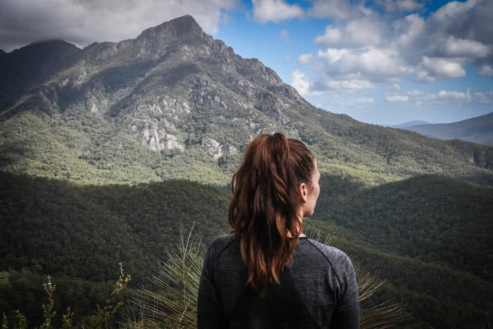 The 21 Best Brisbane Based Outdoor Adventures & Day Trips, Photo by Lisa Owen, hiking, mountain, queensland