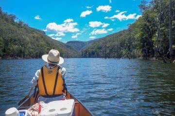 5 Reasons For An Overnight Adventure Mattie Gould canoe, kangaroo valley