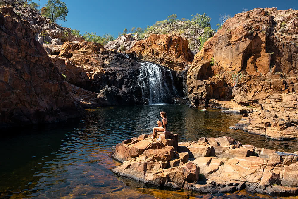 How To Photograph The NT, Katie Goldie, Edith Falls, Nitmiluk National Park