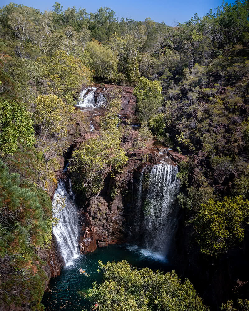 How To Photograph The NT, Katie Goldie, Florence Falls, Litchfield