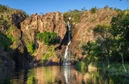 How To Photograph The NT_Katie Goldie_Wangi Falls_Sunset_