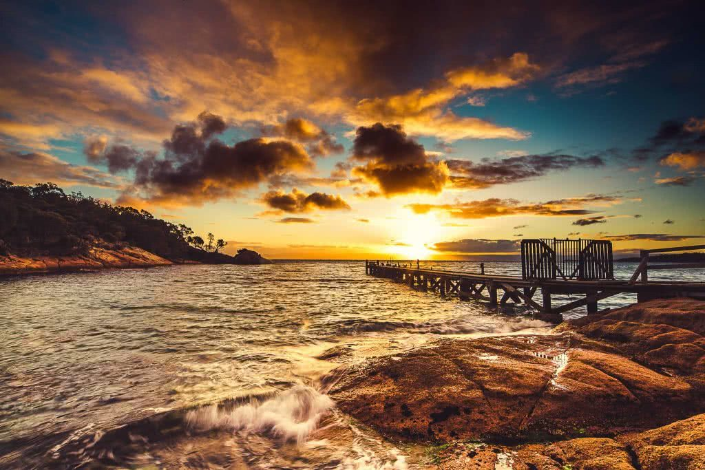 A Photographer's Guide To Shooting Wild Tasmania, Alfonso Calero, Tasmania, photography, sunset