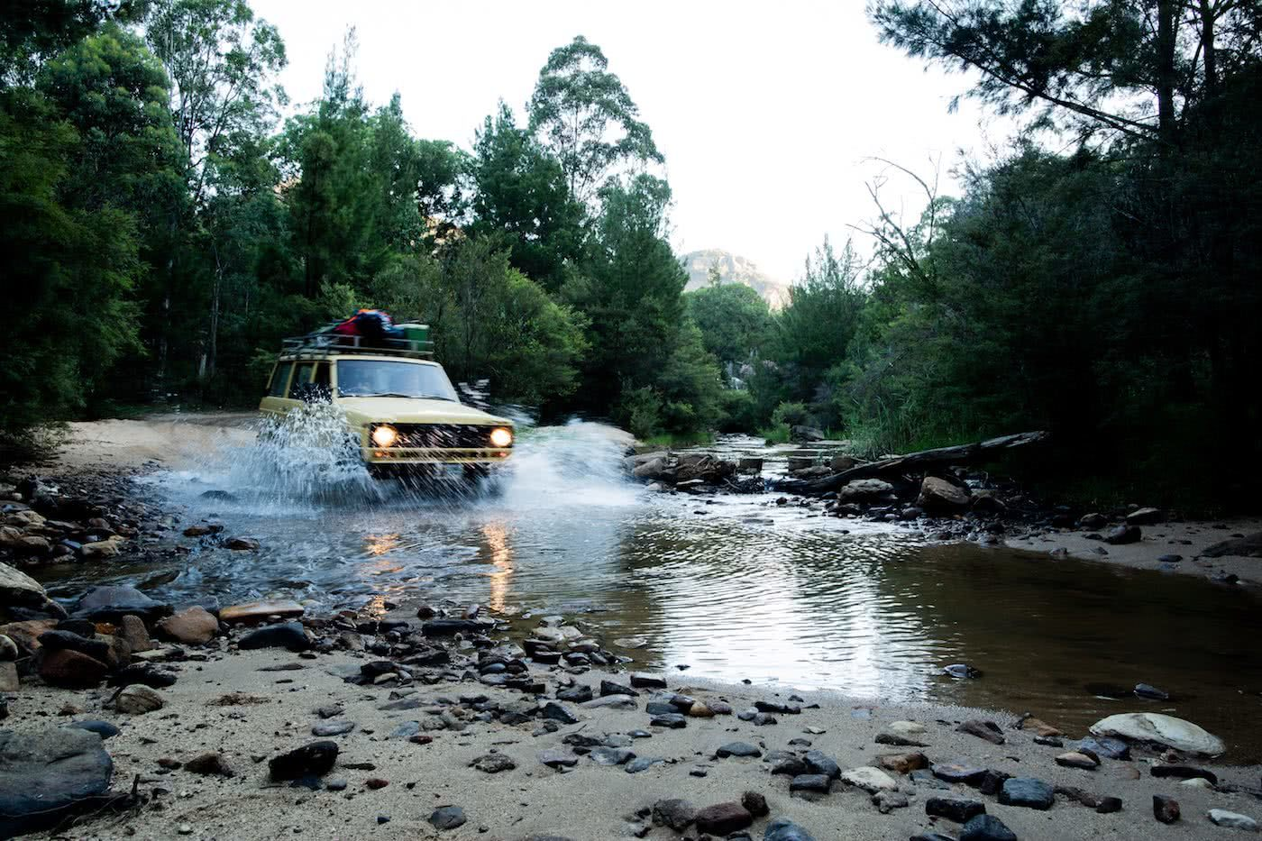Canyoning In Search Of A Good Beer Harriet Farkash, Osprey Adventure Grant, campsite, blue mountains, car, creek