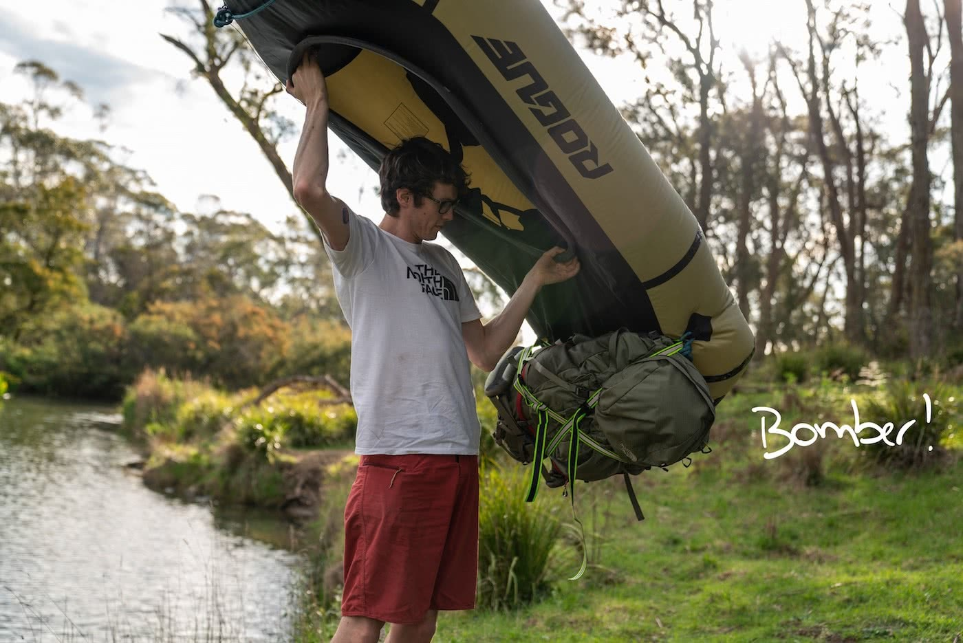 5 Ways To Pimp Your Packraft Mitchell Scanlan Bloor packraft, bomber