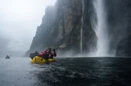 5 Ways To Pimp Your Packraft Mitchell Scanlan Bloor packraft, waterfall, waterproofs