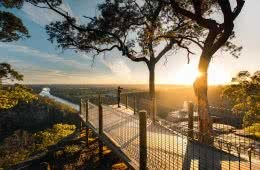 Mt Portal Lookout, shot by Fin Matson, Penrith region, Destination NSW, Blue Mountains