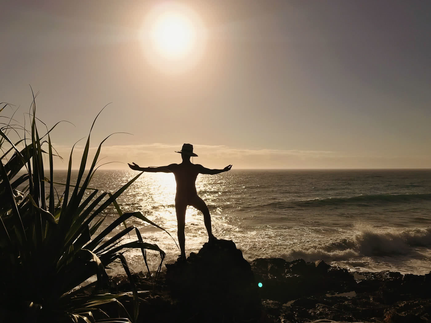 Hiking The Yuraygir Coastal Walk With A Boat On My Back (NSW), photo by Jospeh Faggion, hiking, coastal, packrafting, beach, nsw, sunrise, nude