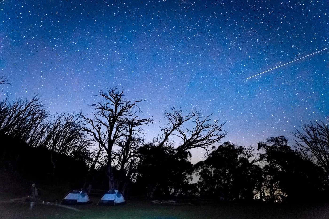 The High Plains on Foot – Four Day Falls Creek Circuit (VIC) Lachlan Fox high plains, camp site, tents, astrophotography