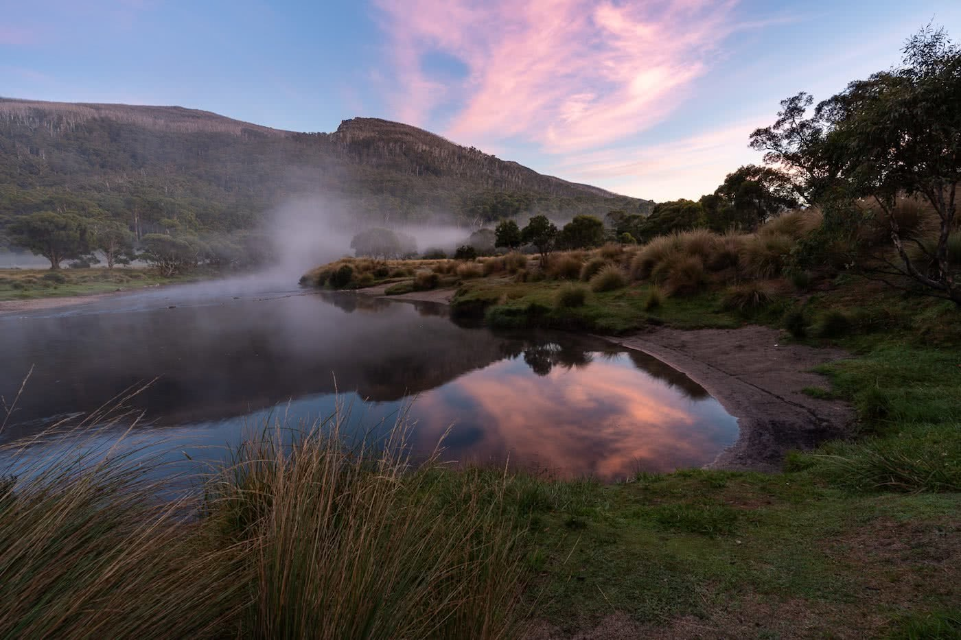 The Mountains Are Calling // Thredbo (NSW) Jon Harris river, sunrise, thredbo diggings