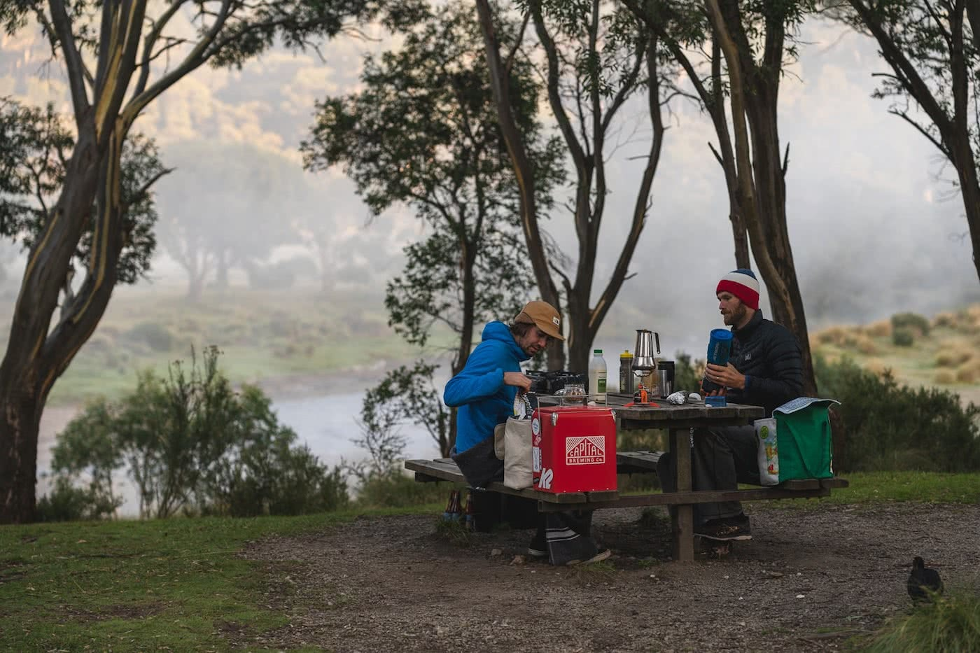 The Mountains Are Calling // Thredbo (NSW) Jon Harris camp food, capital cooler, thredbo diggings