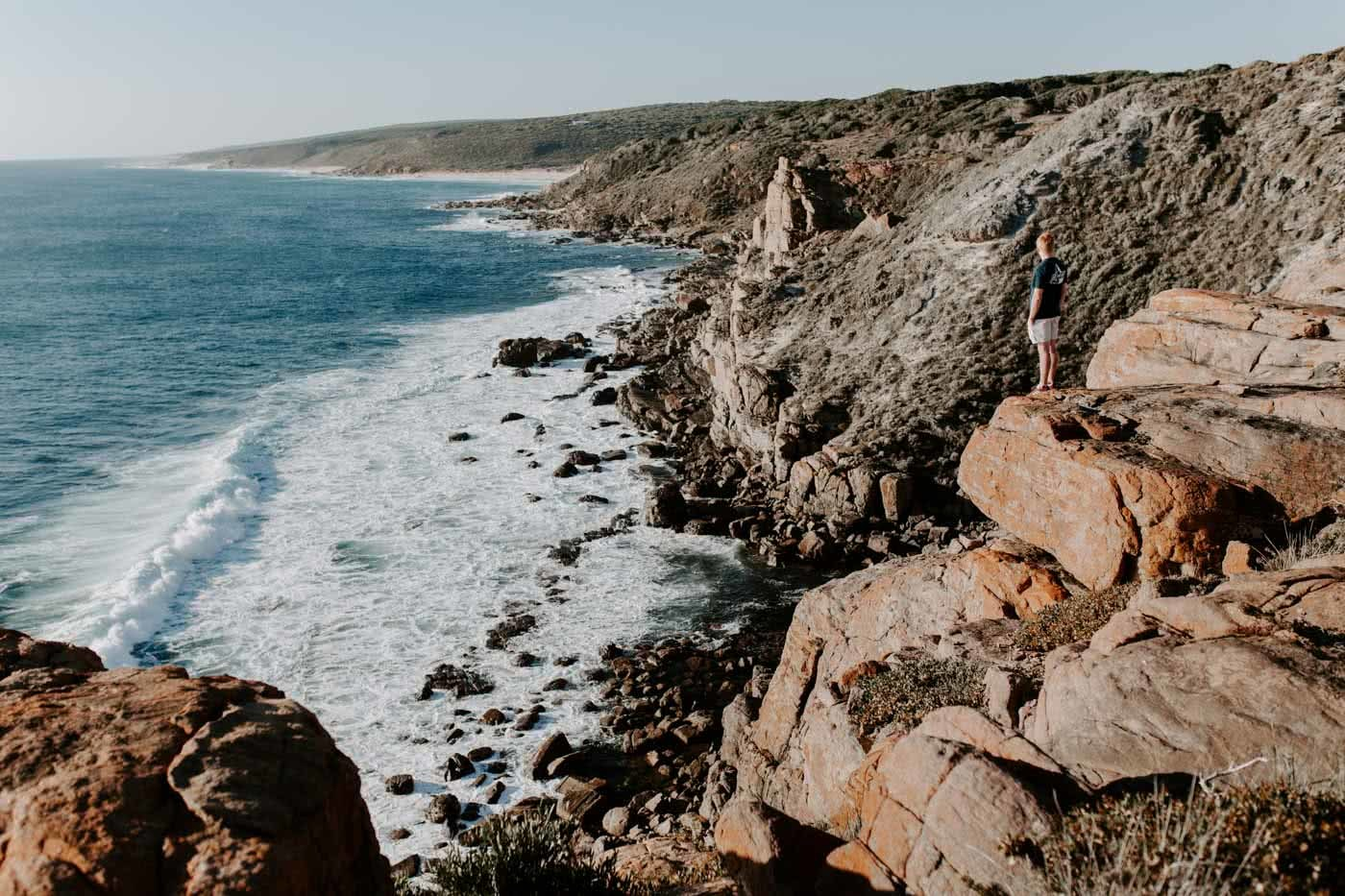 9 Stunning Natural Wonders To Visit In South Western Australia, Wilyabrup Sea Cliffs, photo by Cedric Tang, south western australia, coast, beach