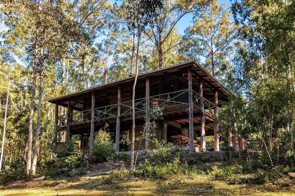 10 Microadventures You Can Do In Dungog, Yes, Dungog, The Treehouse, Carawirry Forest Escape, log cabin