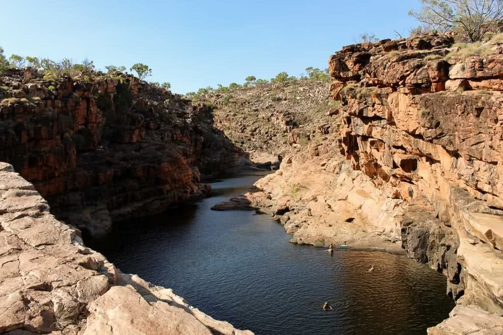 From Kalbarri To The Kimberley – How To Drive Through North West Australia, Bell Gorge- Gibb River Road, photo by Ashlee Kehoe-Sporton, wild swimming