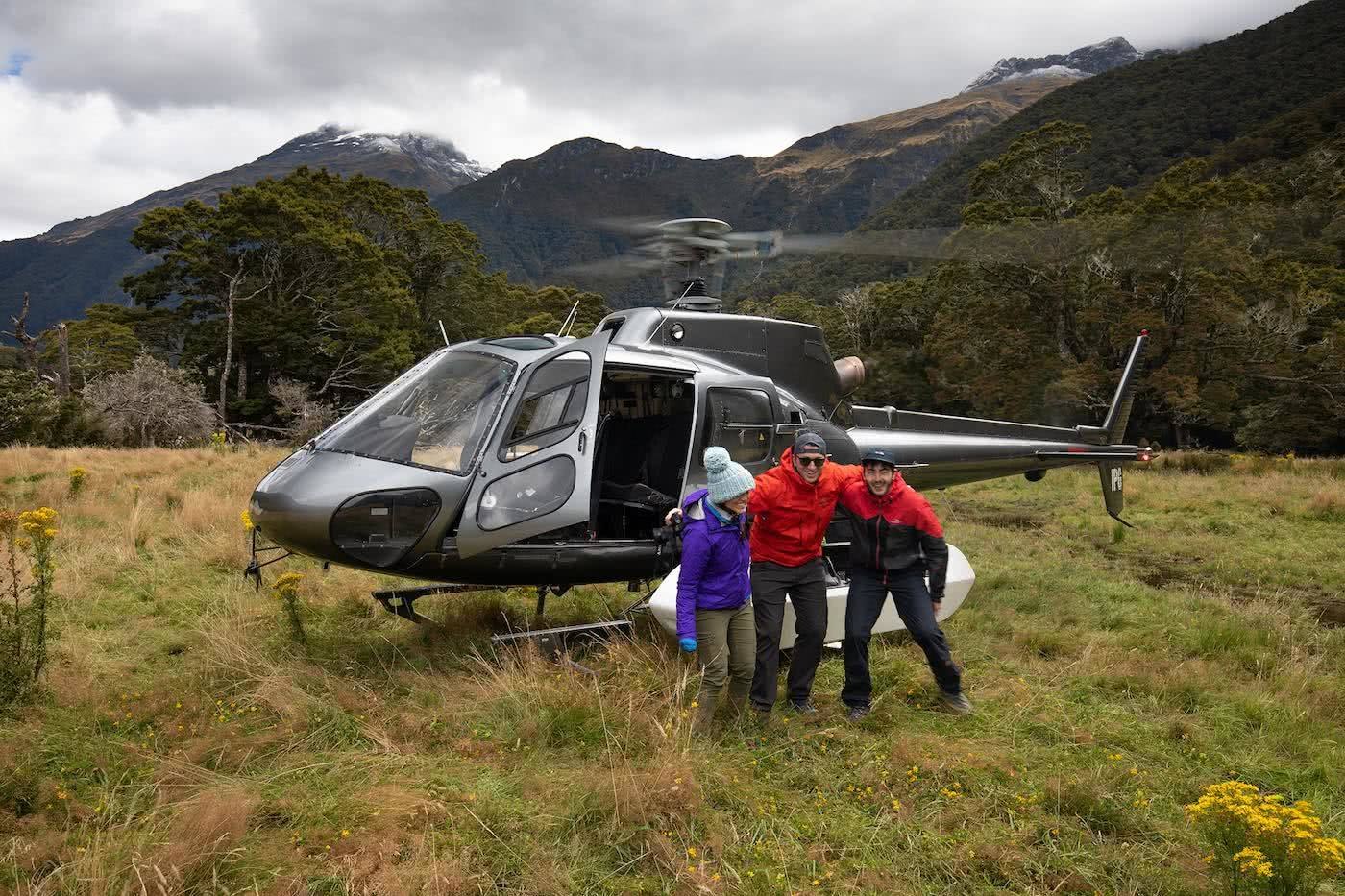 Gillespie Pass Circuit – the Best NZ Multi-day Hike You've Never Heard Of Aidan Howes, mountain, valley, helicopter