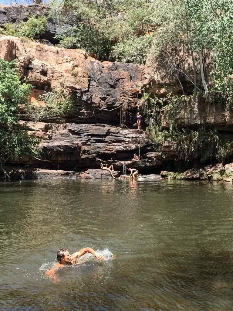 From Kalbarri To The Kimberley – How To Drive Through North West Australia, Gibb River Road, photo by Ashlee Kehoe Sporton, wild swimming