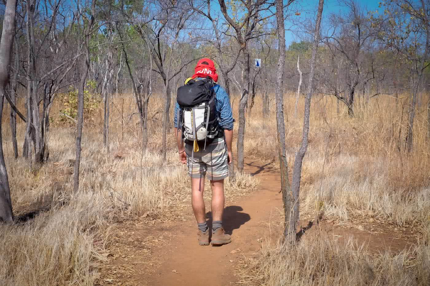 5 Days on the Jatbula Trail (NT) Eliot Duffy hiking, backpack, desert