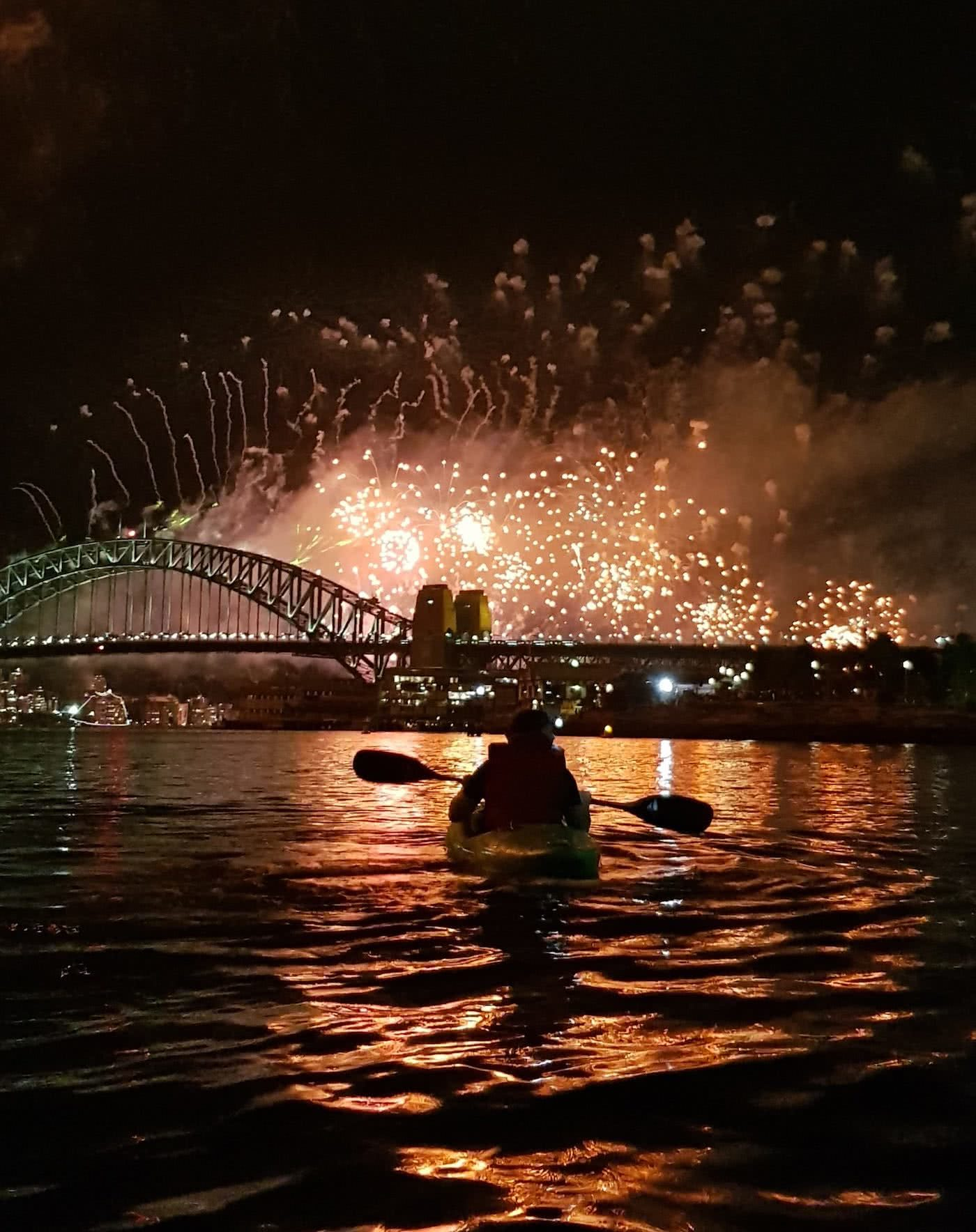 Re-Ignite Your New Year's Eve – Fireworks By Kayak Dan Slater fireworks, sydney harbour, kayaking, life jackets gallery 1