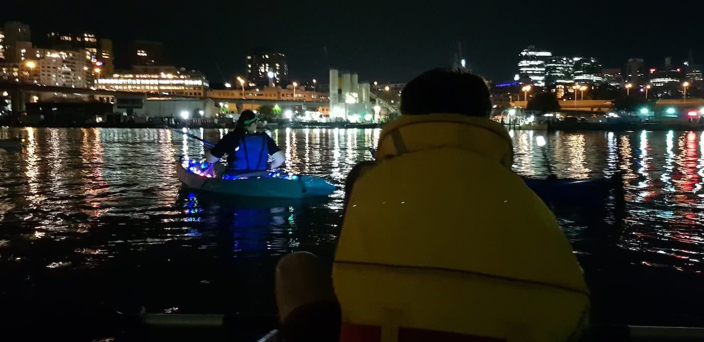 Re-Ignite Your New Year's Eve – Fireworks By Kayak Dan Slater fireworks, sydney harbour, kayaking