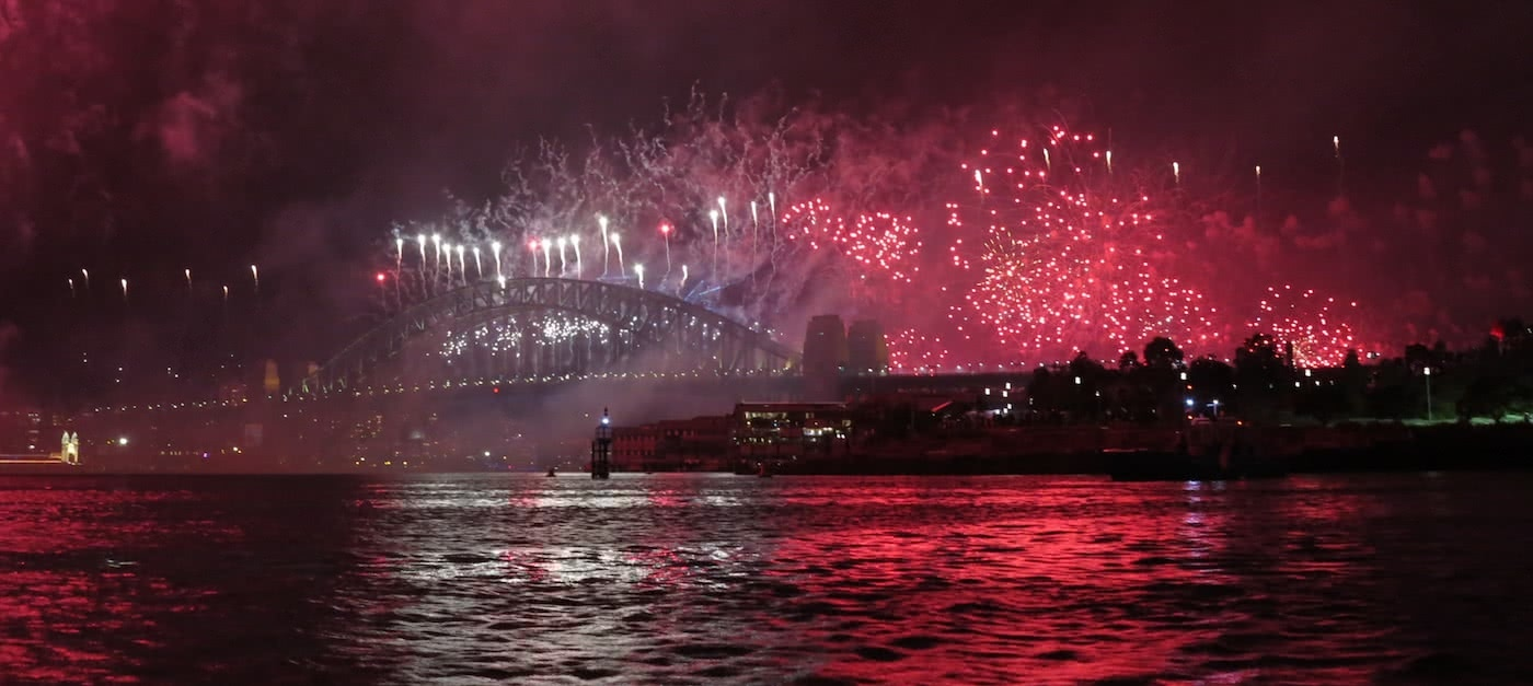 Re-Ignite Your New Year's Eve – Fireworks By Kayak Dan Slater fireworks, sydney harbour