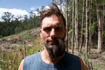 This Couple's Using Beards And Braids To Save The World's Rainforests, Jimmy Stanton-Cook, rainforest, beard