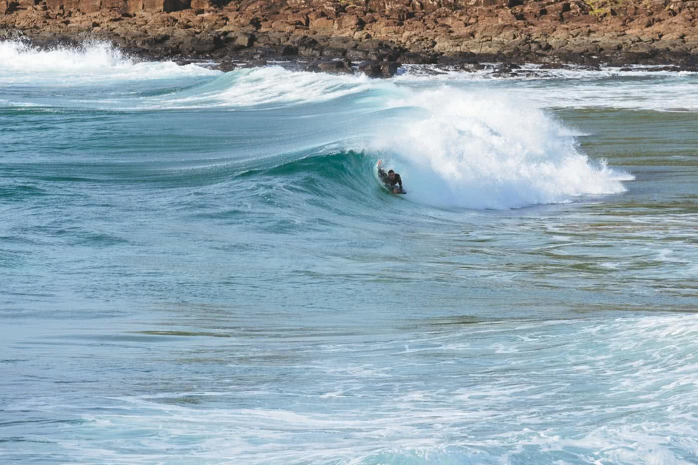 Coastal Surf Town Vibes Under 2 Hours From Sydney Jon Harris Kiama surfing, 6 Apr 2019, the wedge
