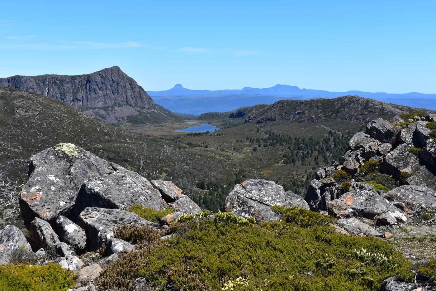 A Hiker's Playground // Walls of Jerusalem National Park (TAS) Emily Barlow View from Mount Jersualem