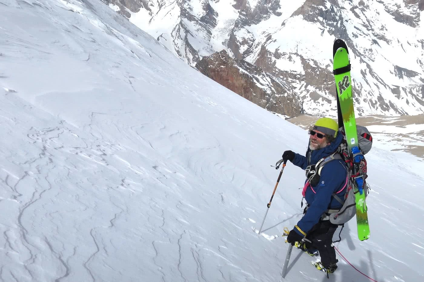 A Life Of Adventure And Now, Politics? // Interview With Huw Kingston, Huw Kingston, photo by Rich Emerson Fann Mountains, Tajikistan, ski mountaineering
