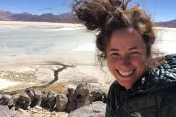 Australian Geographic Sponsorship Goes To... Lucy Barnard, tangles + tail, atacama desert, hiking the length of the world