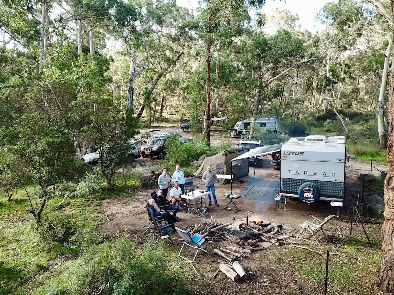 Our Explorers' Pick Of The Best Free Camping Spots In NSW by Mattie Gould, photo by Jackie Martin Cascades campground